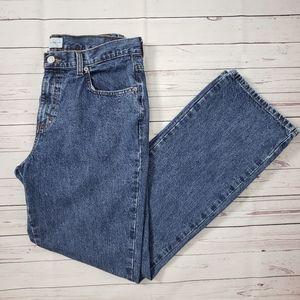 Calvin Klein Jeans Straight Leg Mom Jean C30